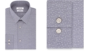 Calvin Klein Calvin Klein Men's Steel Slim-Fit Stretch Performance Non-Iron Blue Dot-Print Dress Shirt