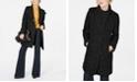 Kenneth Cole Asymmetrical Bouclé Walker Coat