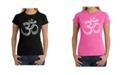 LA Pop Art Women's Word Art T-Shirt - Poses Om