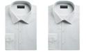 Alfani Alfani Men's Slim-Fit Performance Stretch Striped Box Dress Shirt, Created for Macy's