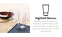 Lucky Brand CLOSEOUT! Textured Highball Glasses, Set of 4, Created for Macy's