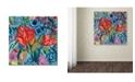 """Trademark Global Carrie Schmitt 'Drishti' Canvas Art - 24"""" x 24"""""""