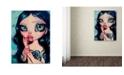 "Trademark Global Natasha Wescoat 'Just A Taste' Canvas Art - 35"" x 47"""