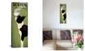 """iCanvas Boston Terrier Coffee Co. by Ryan Fowler Gallery-Wrapped Canvas Print - 48"""" x 16"""" x 0.75"""""""