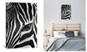"iCanvas Zebra Stare by Bob Larson Gallery-Wrapped Canvas Print - 40"" x 26"" x 0.75"""