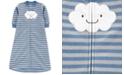 Carter's Baby Boys Striped Microfleece Sleep Bag