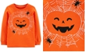 Carter's Toddler Boys Jack-O-Lantern-Print Cotton T-Shirt