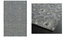 "Kaleen Relic RLC03-68 Graphite 5'6"" x 8'6"" Area Rug"