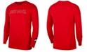 Nike Men's Just Do It Long-Sleeve T-Shirt