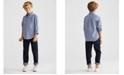 Polo Ralph Lauren Little Boys Poplin Shirt & Hampton Straight Stretch Jeans