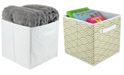 HDS TRADING CORP HDS Trading Metallic Curlz Collapsible Non-Woven Storage Cube