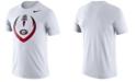 Nike Men's Georgia Bulldogs Dri-Fit Cotton Icon T-Shirt