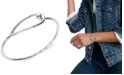 Lucky Brand Silver-Tone Modern Bangle Bracelet