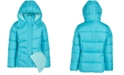 CB Sports Big Girls 2-Pc. Puffer Jacket & Hat Set