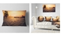 "Design Art Designart Field Of Dreams Panorama Landscape Printed Throw Pillow - 12"" X 20"""