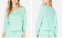Miken Juniors' Cropped Cover-Up Sweatshirt, Created for Macy's