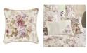 "Royal Court Chambord Lavender 16"" Square Decorative Throw Pillow"