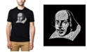 LA Pop Art Men's Premium Word Art T-Shirt - Shakespeare