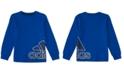 adidas Little Boys Sport Wrap Badge Cotton T-Shirt