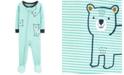 Carter's Baby Boys Cotton Footed Bear Pajamas