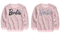 Barbie Big Girls Flip Sequin Leopard-Print Sweatshirt