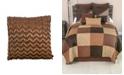 "American Heritage Textiles Victorian Beauty Ribbon Decorative Pillow, 18"" x 18"""