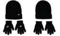Nike Big Boys 2-Pc. Futura Ribbed Beanie & Touchscreen Gloves Set