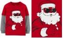 Carter's Toddler Boys Cotton Santa Claus Thermal Top