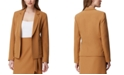 Tahari ASL Petite Notch-Collar Jacket