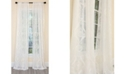 Manor Luxe Ellie Embroidered Sheer Rod Pocket Curtain Collection
