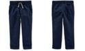 Carter's Toddler Boys Pull-On Poplin Pants