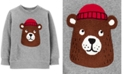 Carter's Baby Boys Bear Fleece Sweatshirt