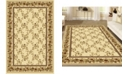 """KM Home CLOSEOUT! 1427/1711/IVORY Navelli Ivory 5'5"""" x 8'3"""" Area Rug"""