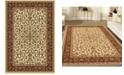 "KM Home CLOSEOUT! 1318/1511/IVORY Navelli Ivory/ Cream 5'5"" x 8'3"" Area Rug"