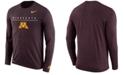 Nike Men's Minnesota Golden Gophers Velocity Travel Long Sleeve T-Shirt