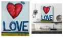 "Courtside Market William DeBilzan Love 16""x20""x2"" Gallery-Wrapped Canvas Wall Art"