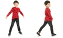 Epic Threads Toddler Boys Dinosaur-Print Thermal T-Shirt & Knit Denim Jogger Pants, Created For Macy's