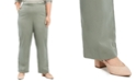 Alfred Dunner Plus Size Loire Valley Proportioned Twill Pants