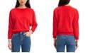 Levi's Women's Velour Dolman-Sleeve Top