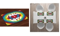 Ambesonne 70s Party Place Mats, Set of 4