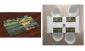 Ambesonne Deer Place Mats, Set of 4