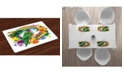 Ambesonne Parrot Place Mats, Set of 4