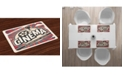 Ambesonne Vintage-Like Place Mats, Set of 4