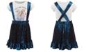 Evy of California Disney® Toddler Girls Frozen 2-Pc. Trust Your Journey T-Shirt & Velvet Skirtall Set