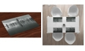 Ambesonne Chicago Skyline Place Mats, Set of 4