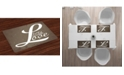 Ambesonne Live Laugh Love Place Mats, Set of 4