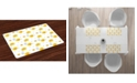 Ambesonne Flower Place Mats, Set of 4