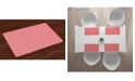 Ambesonne Candy Cane Place Mats, Set of 4