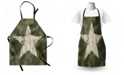 Ambesonne Camouflage Apron