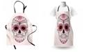 Ambesonne Sugar Skull Apron